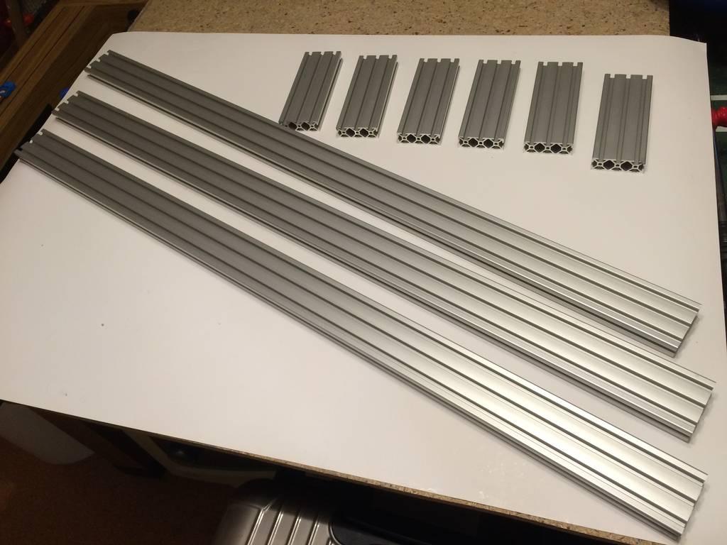 Aluprofil 20x60 I-Typ Nut 5