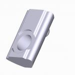 Nutenstein Nut 5 M5 mit Kugel